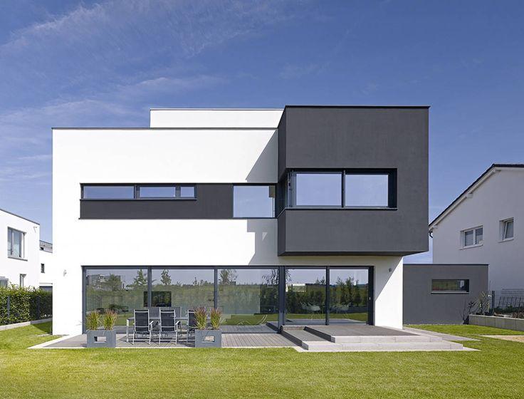146 best Flachdach Haus images on Pinterest | Moderne häuser ...