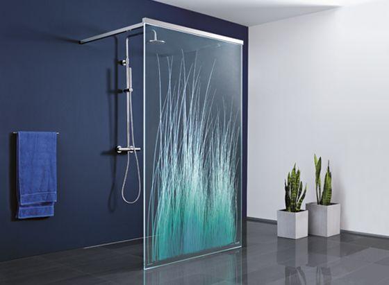 Freistehende Dusche Glas : Eckeinstieg, Duschabtrennung Glas y Duschwand F?r Badewanne