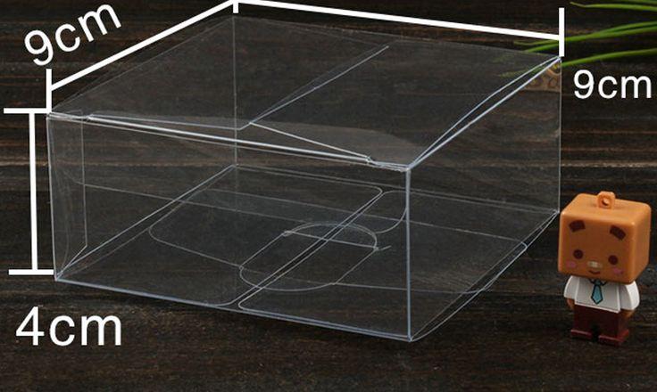 30 stks 4*9*9 cm clear plastic pvc doos verpakking dozen voor geschenken/chocolade/candy/cosmetische/ambachten vierkante transparante pvc Doos in pvc box3x3x34x4x45x5x56x6x67x7x78x8x89x9x910x10x1011x11x1112x12x1213x13x1314x14x1415x15x1516x16x1620x20x20andere grootte van Event& party benodigdheden op AliExpress.com | Alibaba Groep