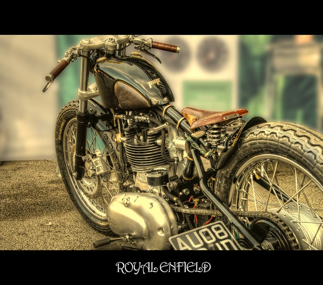 Royal Enfield Bobber photograph and edit by me