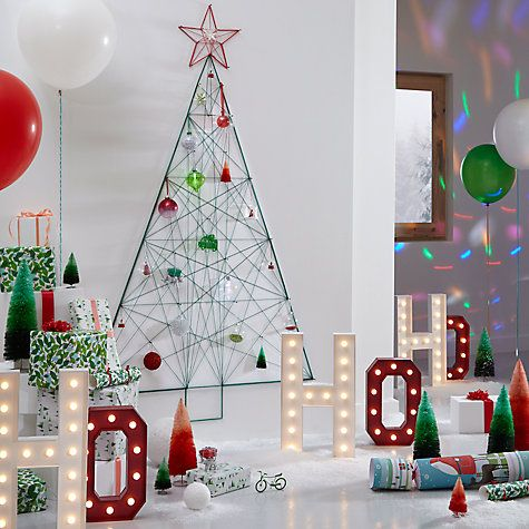 This piece is from our Different Perspective theme. It draws on a bold colour palette for contemporary and playful pieces, allowing you to view traditional Christmas decorating through new eyes.