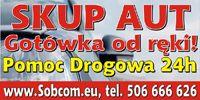 Sobcom, Taxi Toruń, pomoc drogowa Toruń i wypożyczalnia samochodów. Skup aut i komis w Toruniu