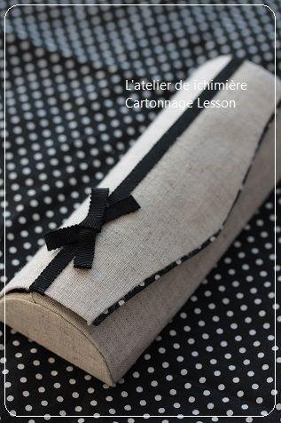 レッスンレポ/カルトナージュ : ichimière手づくりの時間