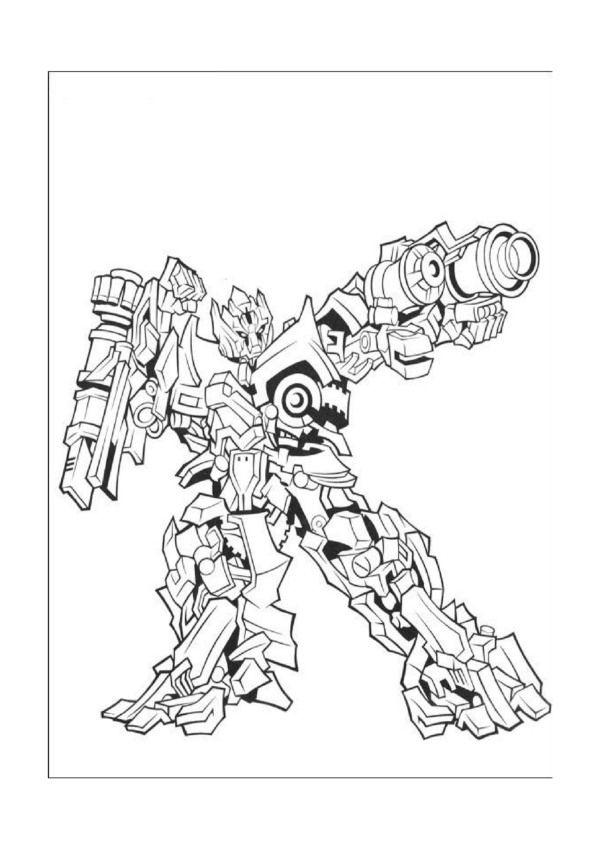 Desenhos para colorir Transformers 4