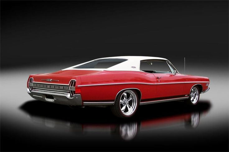 1968 FORD GALAXIE XL FASTBACK - Rear 3/4 - 125313