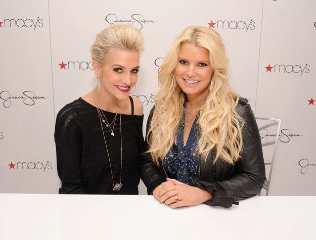 Which Famous Sisters Are You And Your Sis?  You got: Jessica and Ashlee Simpson Like Jessica and Ashlee, you guys are close despite not having a great deal in common. You had very different interests as teenagers, but you've got so much closer as you've got older. And good for you - you guys are the best. *my sister's results