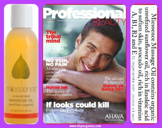#Miessence Massage Oil........mmmmm