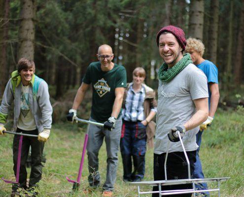 Plant Trees 2016 - Rohholz Baumpflanzaktion #rohholz