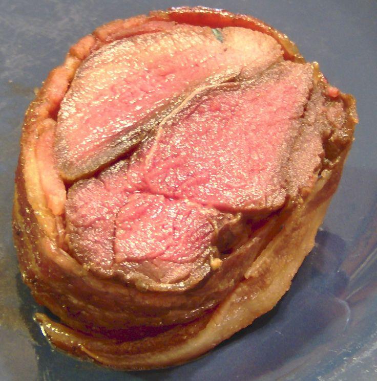 Sweet Bacon-Wrapped Venison Tenderloin