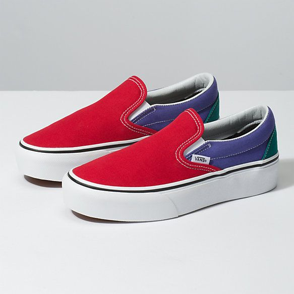 Slip On Platform | Shop Classic Shoes | Vans slip on, Slip