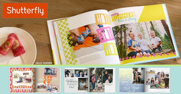 Free 8×8 Shutterfly Photo Book W/shipping and Donating $1 to ACS: Get an exclusive promo code for a free Shutterfly… #coupons #discounts