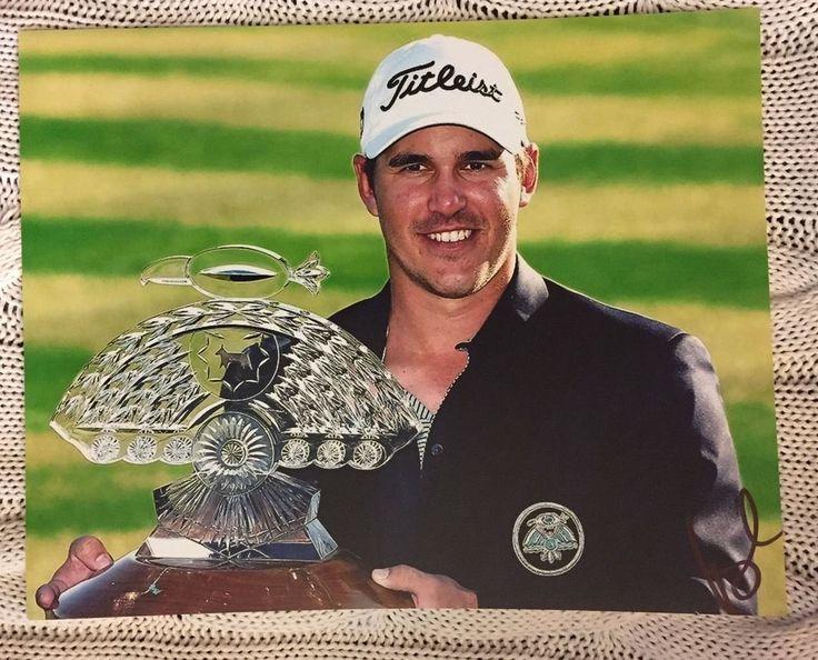 Brooks Koepka Signed Pga Tour Golf 8 X 10 Photo Autographed