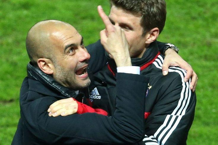 Alirón del Bayern de Pep Guardiola