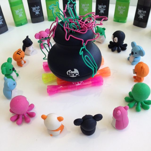 Woah! I think the spell went wrong. We wanted green slime, not penguins and pigs! We need to start again. Abracadabra! #halloweenfun https://www.tinc.uk.com/products/touchy-feely-paperclip-dispenser-black/?stockID=592&departmentID=&subdepartmentID=&searchfield=clip%20holder&page=&promoID=&pcolours=&rt=/search