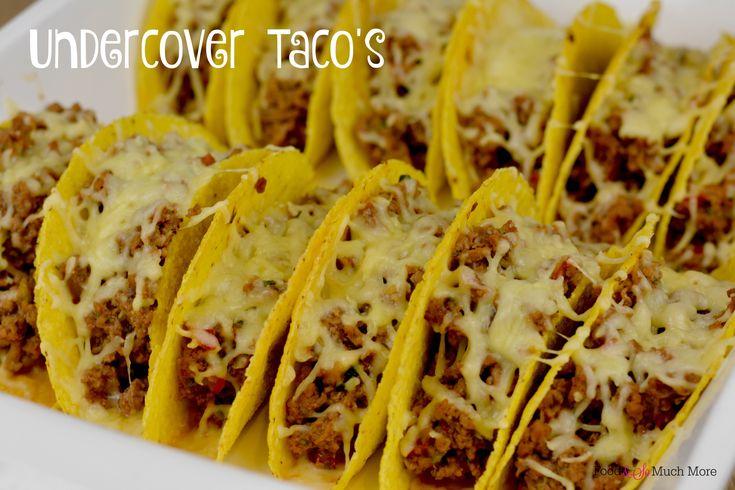 We hadden al de Undercover lasagne waar we lekker wat groente in verstoppen zo onze kinderen foppen. Maar mijn kinderen zijn ook dol op taco's!