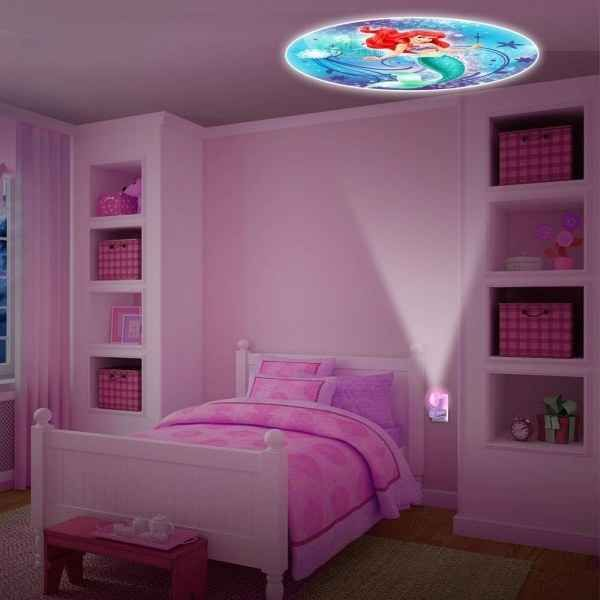 Get this night light that projects princesses onto the ceiling.