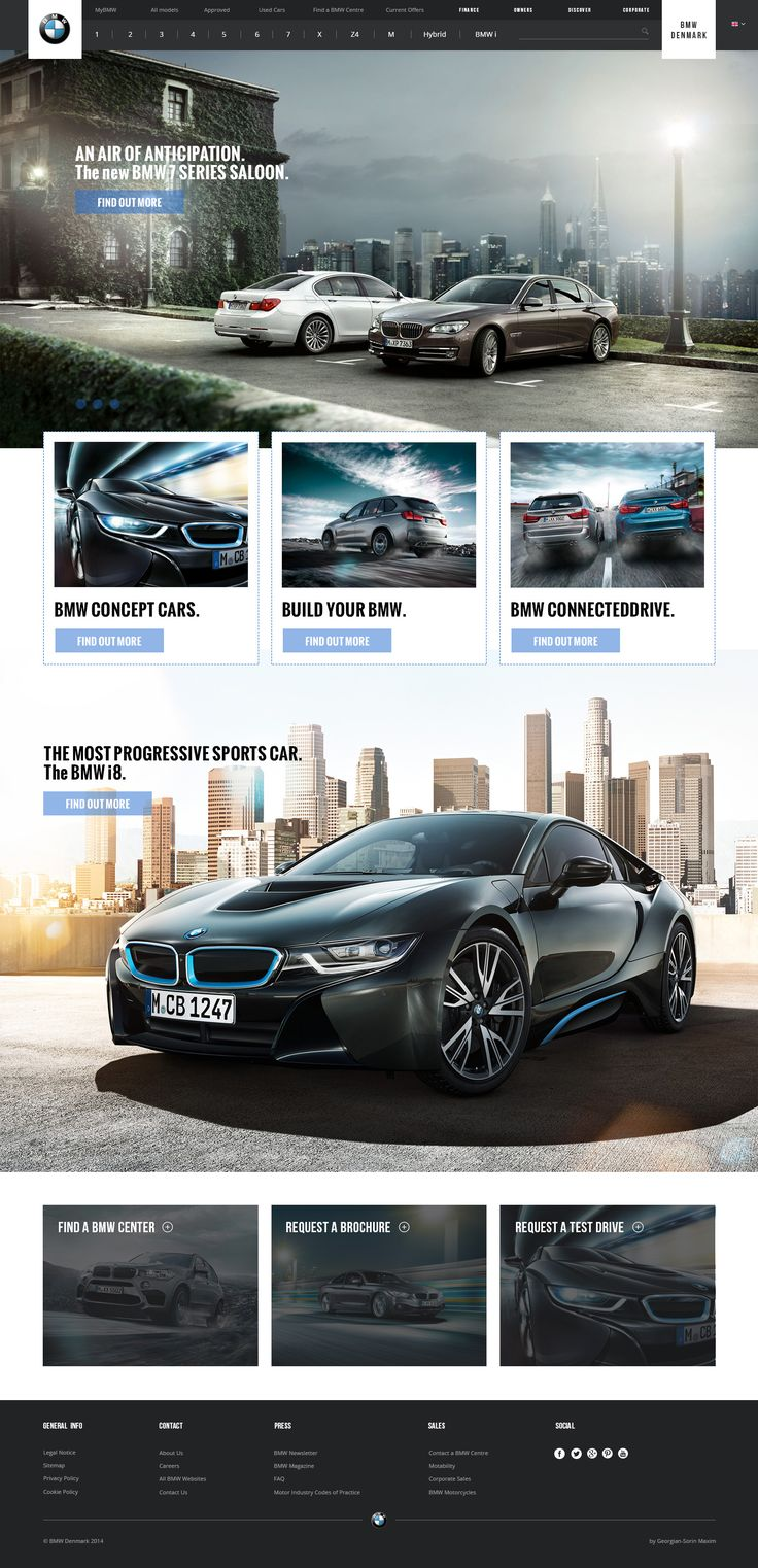 BMW Website Re-design Published by Maan Ali