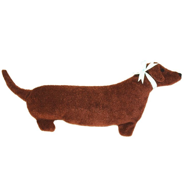 Let this Dachshund neck heating pad curl up on your lap and keep you snuggly warm. Warms cold hands & feet during an illness when physical activity is limited.