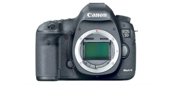 Cámara reflex Canon EOS 5D Mark III. AHORRO 27%. 2068.94€. #ofertas #descuentos