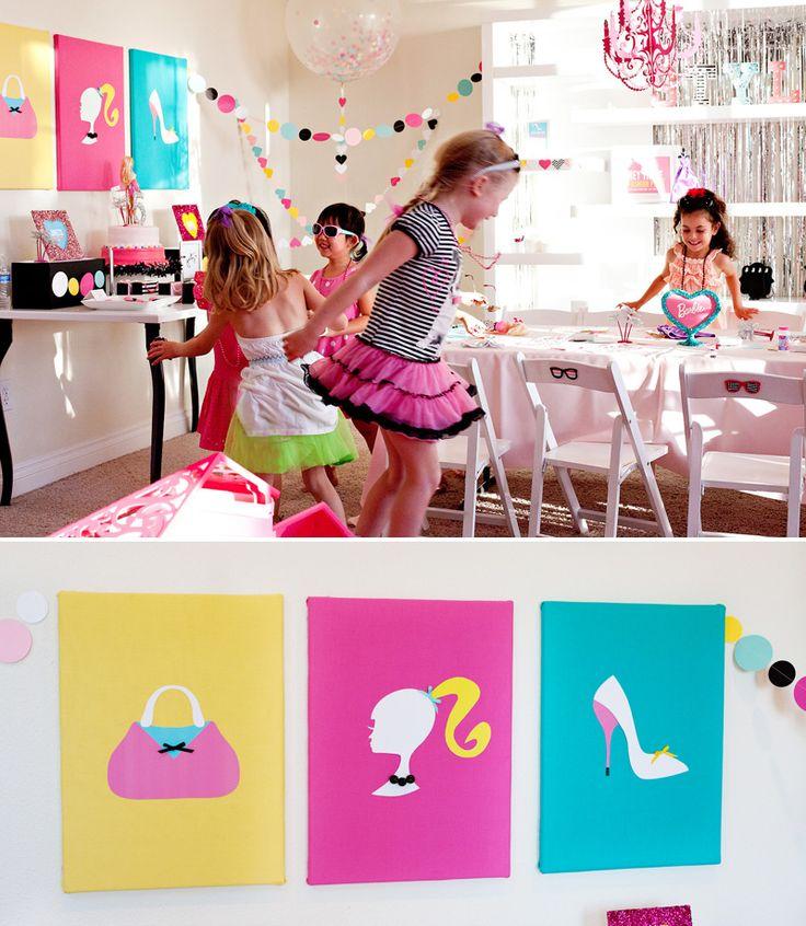 18 mejores im genes de fiestas de barbiebarbie en - 18 cumpleanos ideas ...