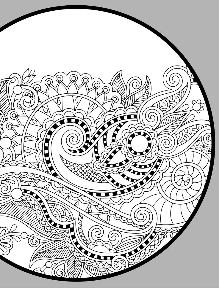 24 More Free Printable Adult Coloring Pages Paisley