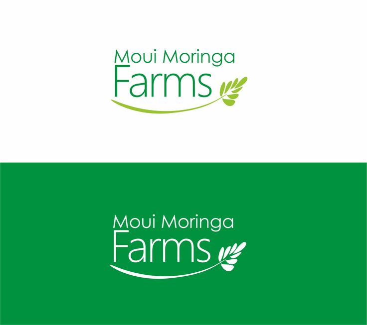 Moui Moringa Farms. Logo.