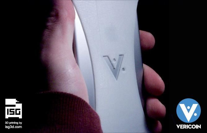 3D Printed Vericoin Phone Case