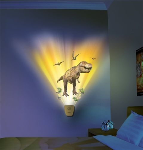 Dinosaur Expedition Wild Walls Light & Sound Room Decor by Uncle Milton: Ships FREE to CT, MA & RI!