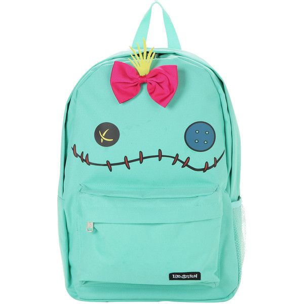 Disney Loungefly Disney Lilo & Stitch Scrump Character Backpack (1,870 DOP) ❤ liked on Polyvore featuring bags, backpacks, accessories, blue bag, disney, disney backpacks, disney rucksack and zipper bag