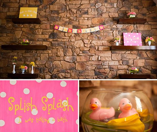 59 best Rubber Ducky Party images on Pinterest   Centerpieces ...