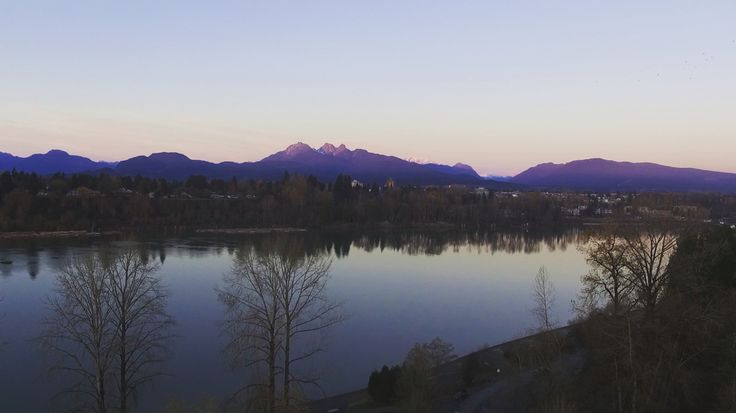 Dusk. Golden Ears. Langley, BC.