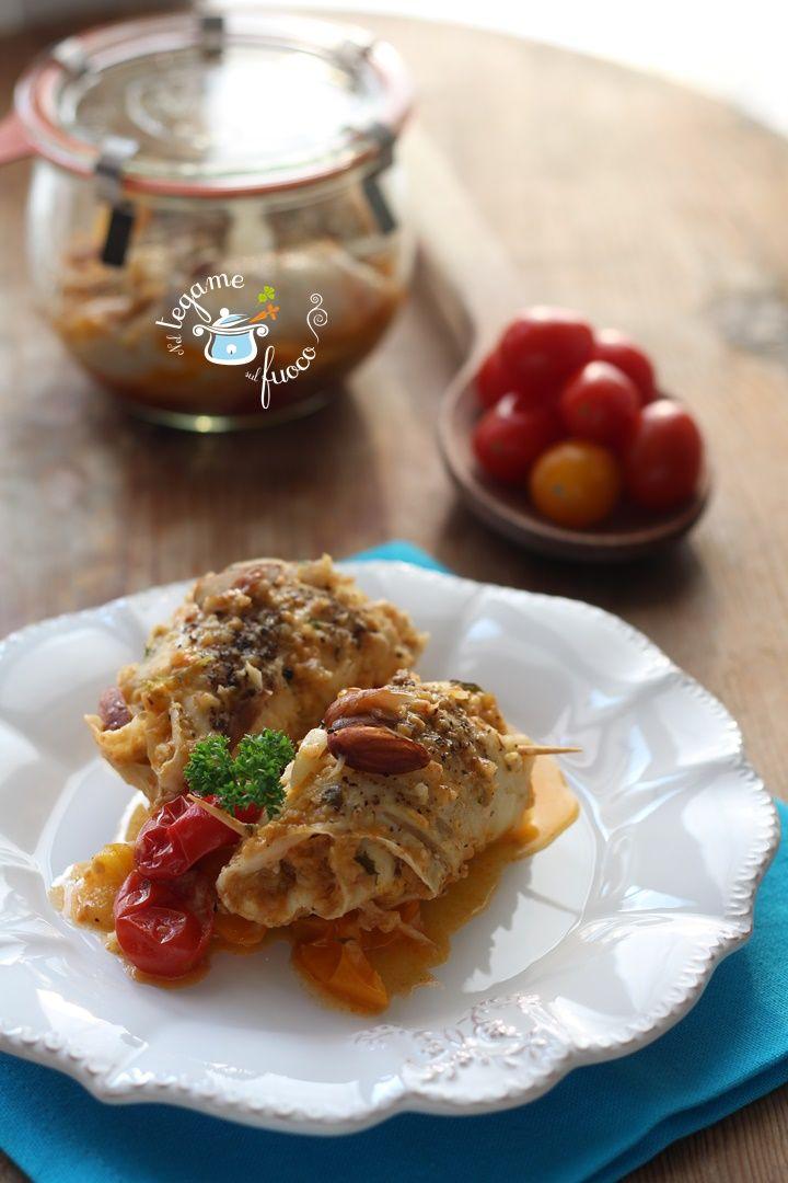 Se c'è un ingrediente che viene delizioso cotto in vasocottura, è il pesce! Allora perché farsi scappare gli involtini di pesce in vaso? Cotti in 6 minuti.