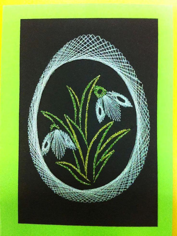 Die besten 25 fadengrafik ostern ideen auf pinterest - String art vorlagen kostenlos ...