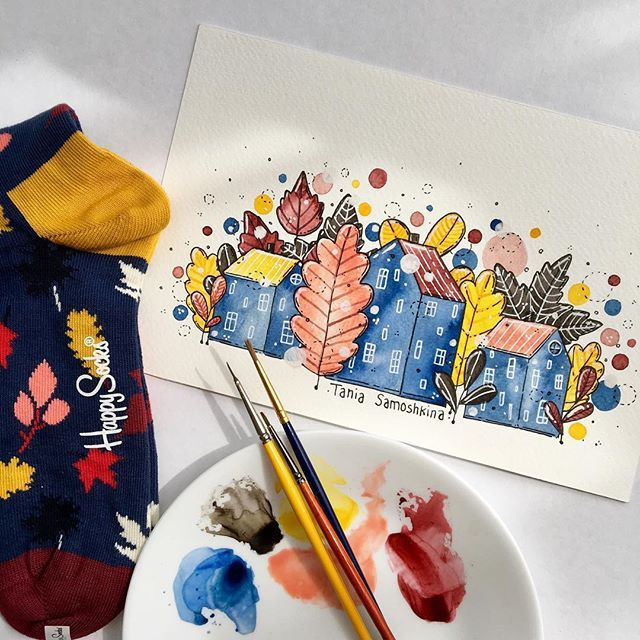 Be inspired by details and colors✏️ Keep your mood up with @happysocks ✨ #HappinesEverywhere #HappySocks #inspiration