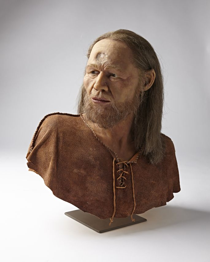 Marcel Nyffenegger - Facial reconstruction of a Cro-Magnon male