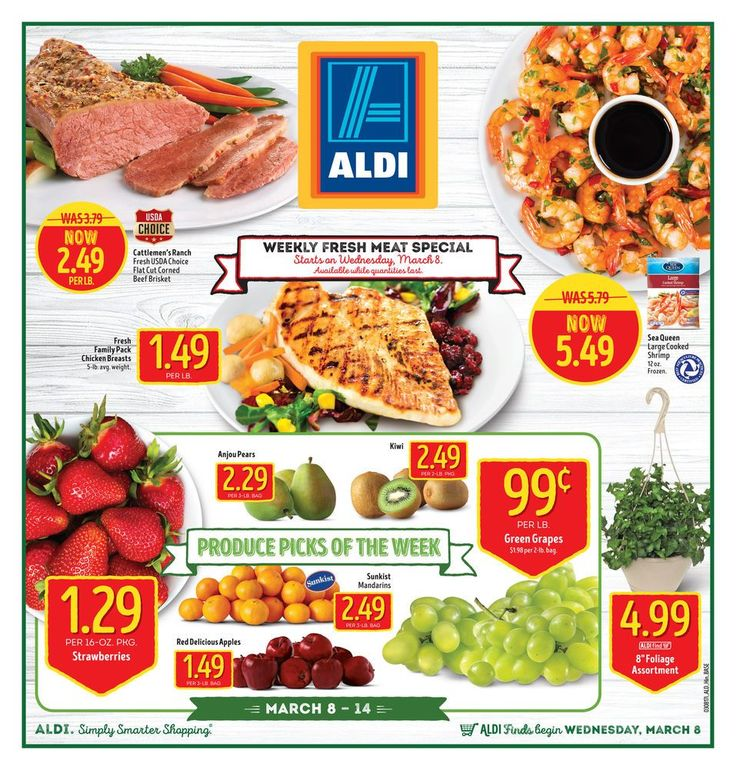 ALDI USA Weekly Ad Circular Mar 8 - 14 United States #grocery #Aldi #USA