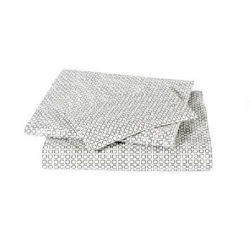 Dwell Studios Square Dove Grey Sheet Set $180.00 #sweetcreations #baby #toddlers #kids #bedding