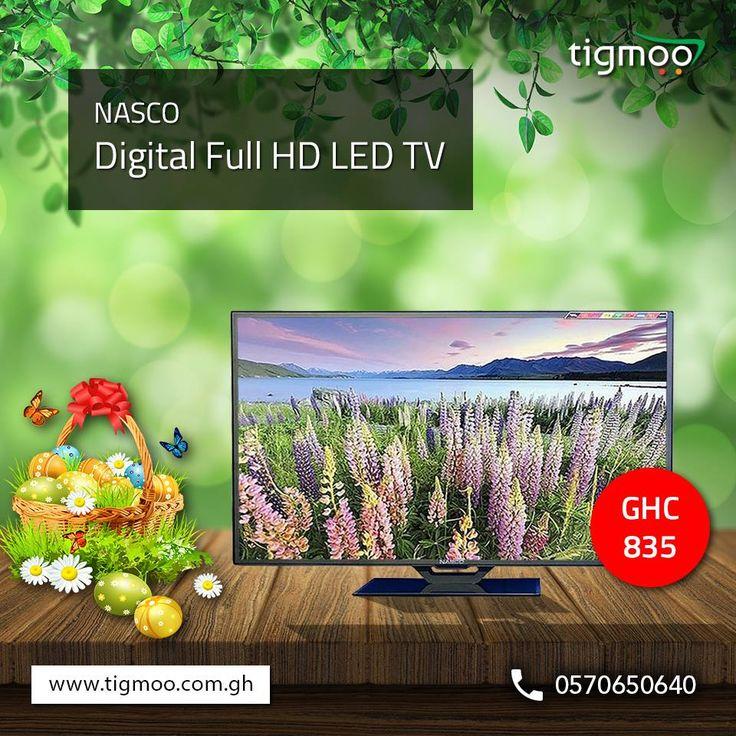 #NASCO 32 inches Digital #FullHD #LEDTV (LED E32E9100) available at tigmoo at the price of GHC 835  https://www.tigmoo.com.gh/led-709-nasco-led-tv-32-inch-e32e9100.html  You can check other available #NascoTV here: https://www.tigmoo.com.gh/tv/nasco-tv.html?dir=asc&limit=45&order=price