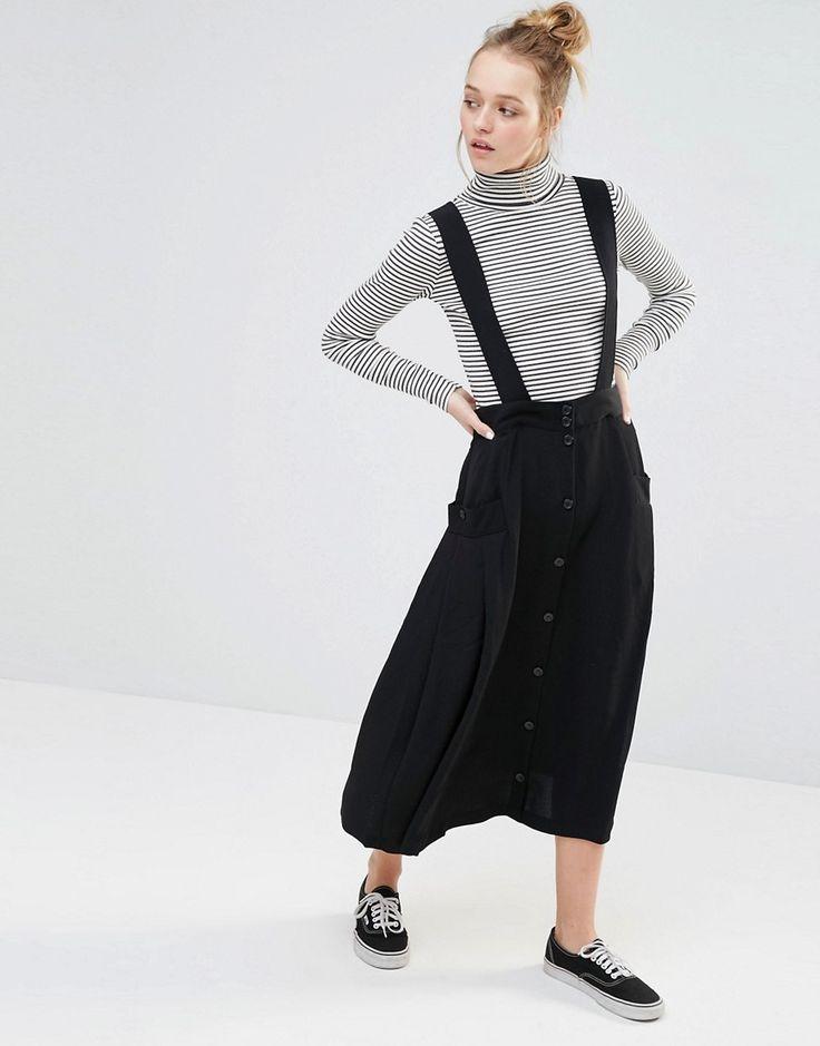 Image 1 ofMonki Pinafore Skirt