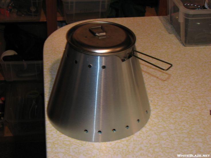 DIY Caldera Cone from disposable BBQ...