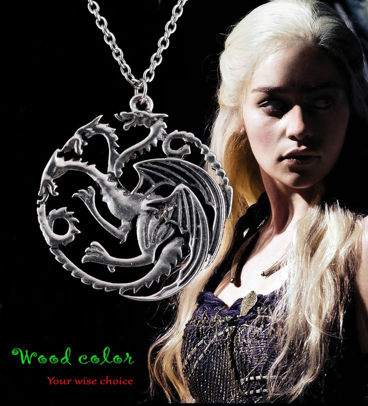 Free shopping  HOT High quality Song Of Ice And Fire Game Of Thrones Targaryen Dragon Badge Necklace  //Price: $US $0.62 & FREE Shipping //     #gameofthronesmarathon #gameofthronestour #jonsnow #starks #sansastark #gameofthronesaddict