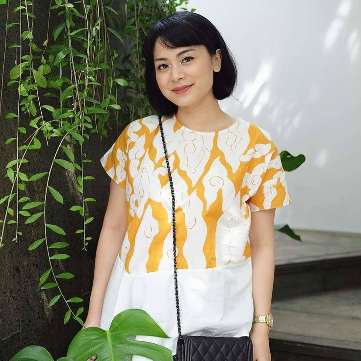 As seen on @alodita featuring our Yellow Asmaya #youxcottonink #ootd | COTTONINK