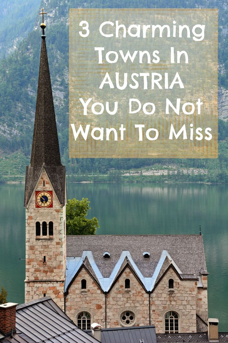 Don't miss these adorable villages in Austria!