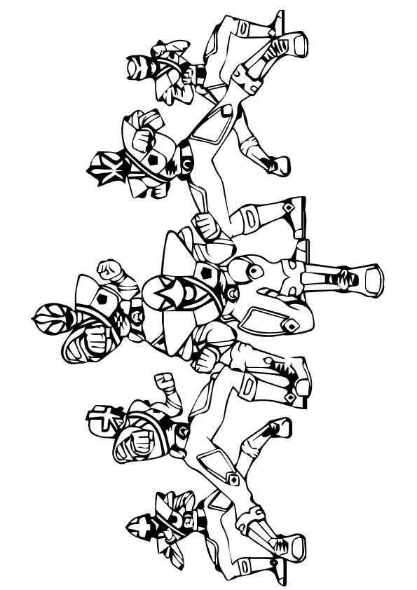 10 best power rangers images on pinterest power rangers for Power ranger megaforce coloring pages
