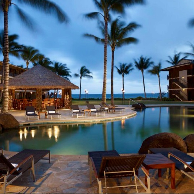17 best images about kauai beach resorts locations on for Small luxury beach hotels