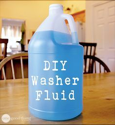 The price of store bought windshield washer fluid is relatively low, but the toxicity is high. Luckily, this DIY version gets the job done, is cost-efficient, and is safe for you and the environment!