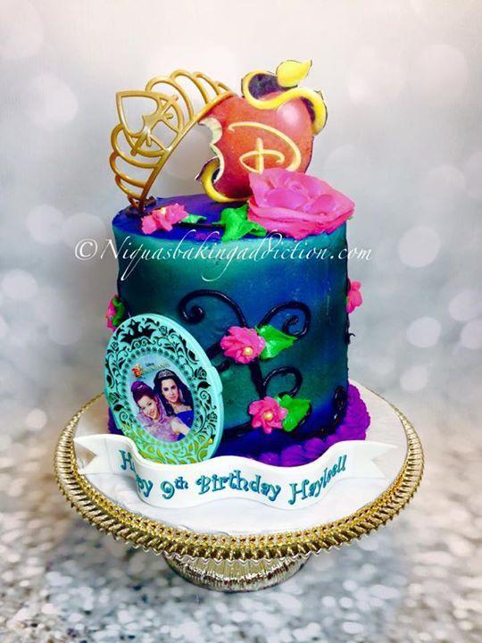 Disney Descendants Cake Kid S Cakes Pinterest Disney