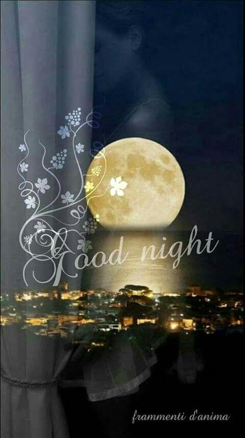 Buonanotte. ... und ein Knutschi, dazu. Nachti