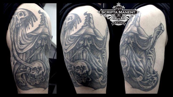 Wizard tattoo