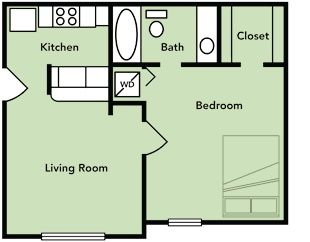 Small Apartment Kitchen Floor Plan 105 best floor plans images on pinterest | bedroom floor plans
